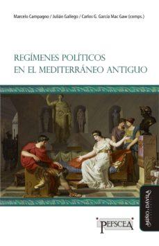 regímenes políticos en el mediterráneo antiguo-9788416467150