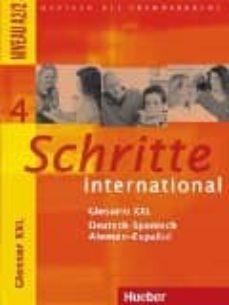 schritte international.4.glos.xxl.esp.-9783193818546