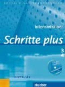 schritte plus.3+4.intensivtr + cd-9783192019135