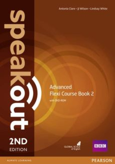 speakout advanced 2nd edition flexi coursebook 2 pack-9781292149363