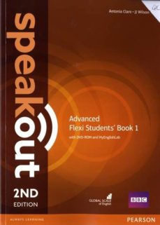 speakout advanced 2nd edition flexi students  book 1 pack-9781292160924