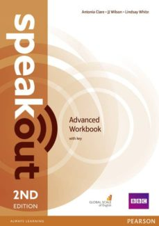 speakout advanced 2nd edition workbook with key-9781447976660