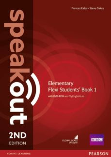 speakout elementary 2nd edition flexi students  book 1 pack-9781292160948