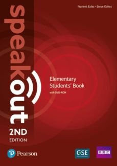 speakout elementary 2nd edition students  book and dvd-rom pack-9781292115924