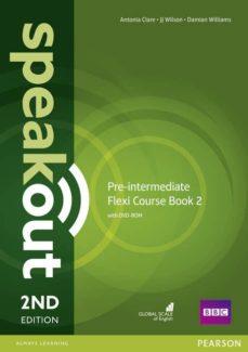 speakout pre-intermediate 2nd edition flexi coursebook 2 pack-9781292149349