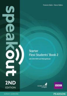 speakout starter 2nd edition flexi students  book 2 pack-9781292161013