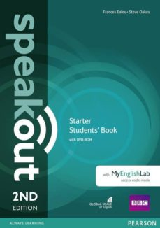 speakout starter 2nd edition students  book with dvd-rom and myenglishlab access code pack-9781292115993