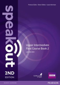 speakout upper intermediate 2nd edition flexi coursebook 2 pack-9781292149387