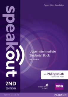 speakout upper intermediate 2nd edition students  book with dvd-r om-9781292116006