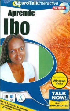 talk now! learn ibo (beginners) (cd-rom)-9781843520757