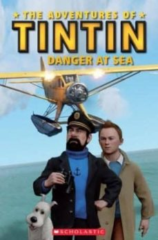tintin 2: danger at sea (book + cd)-9781407133690
