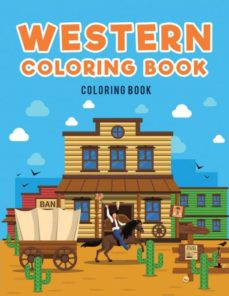 western coloring book-9781635894295