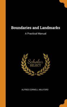 boundaries and landmarks-9780341686248