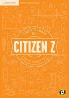 citizen z b1+ teacher s book-9788490366202