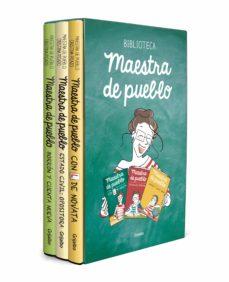 maestra de pueblo (pack con: con l de novata; estado civil: opositora;  borron y cuenta nueva)-cristina picazo-9788425361654