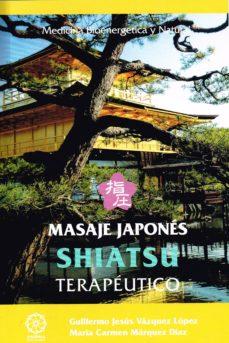 masaje japonés shiatsu terapéutico-9788416765201
