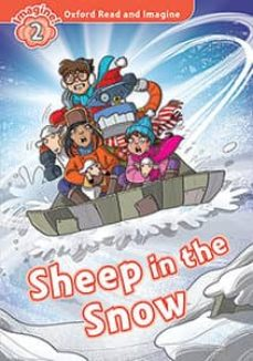 oxford read and imagine 2. sheep in the snow (+ mp3)-9780194017640