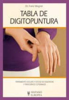 tabla de digitopuntura-dr. franz wagner-9788425519949